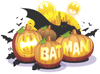 Batman Bat O Lanterns Juniors T-Shirt