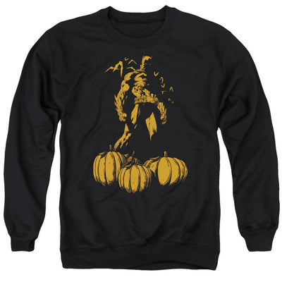 Batman A Bat Among Pumpkins Men's Crewneck Sweatshirt