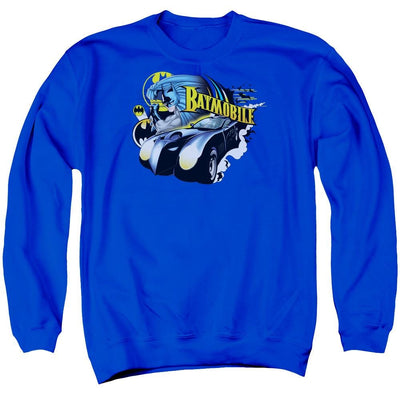 Batman Batmobile Men's Crewneck Sweatshirt