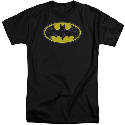 Batman Bats In Logo Men's Tall Fit T-Shirt