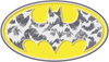 Batman Bats In Logo Juniors T-Shirt