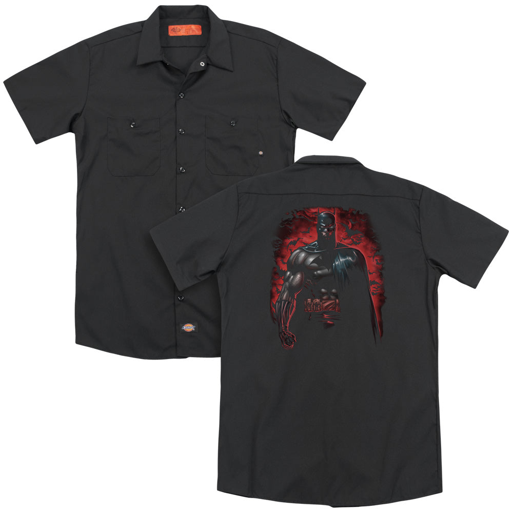 Batman - Red Knight  Adult Work Shirt