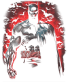Batman Red Knight Men's Tall Fit T-Shirt