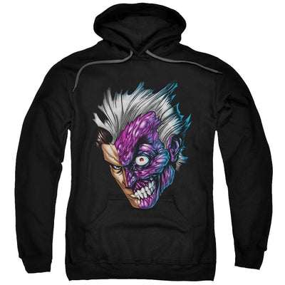 Batman Just Face Pullover Hoodie
