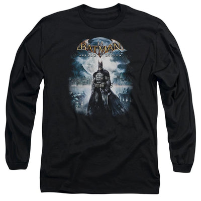 Batman - Arkham Game Cover Men's Long Sleeve T-Shirt