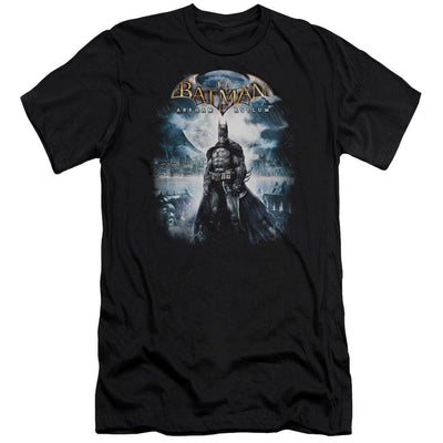 Batman - Arkham Game Cover Men's Slim Fit T-Shirt