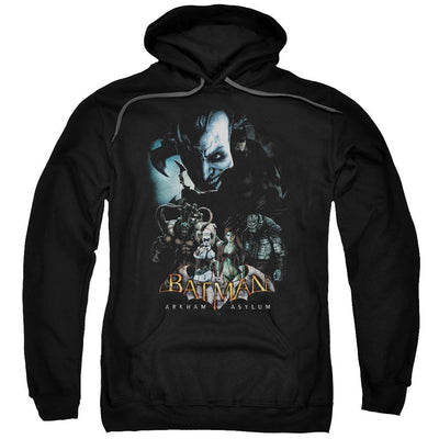 Batman - Arkham Five Against One Pullover Hoodie