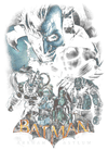 Batman - Arkham Five Against One Women's T-Shirt