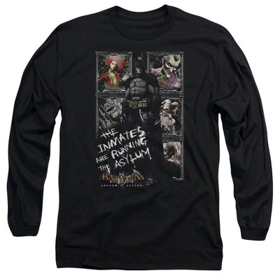 Batman - Arkham Running The Asylum Men's Long Sleeve T-Shirt