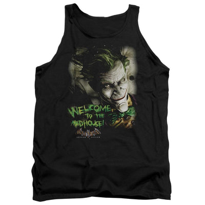 Batman - Arkham Welcome To The Madhouse Men's Tank