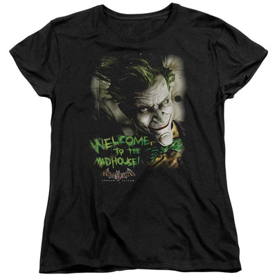 Batman - Arkham Welcome To The Madhouse Women's T-Shirt
