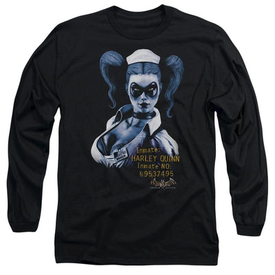 Batman - Arkham Arkham Harley Quinn Men's Long Sleeve T-Shirt