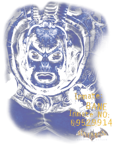 Batman - Arkham Arkham Bane Men's Heather T-Shirt