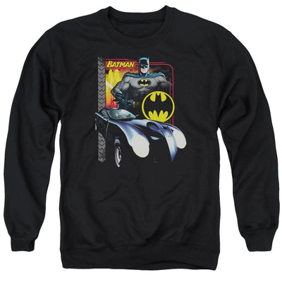 Batman Bat Racing Men's Crewneck Sweatshirt