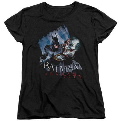 Batman - Arkham Jokes On You! Women's T-Shirt
