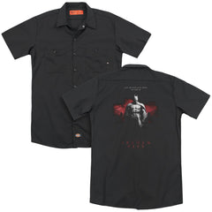 Arkham City - Standing Strong Adult Work Shirt