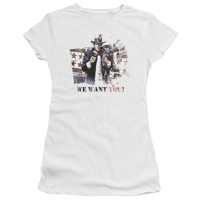 Batman - Arkham We Want You Juniors T-Shirt