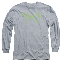 Arkham City - Joker's Fun House Adult Long Sleeve T-Shirt