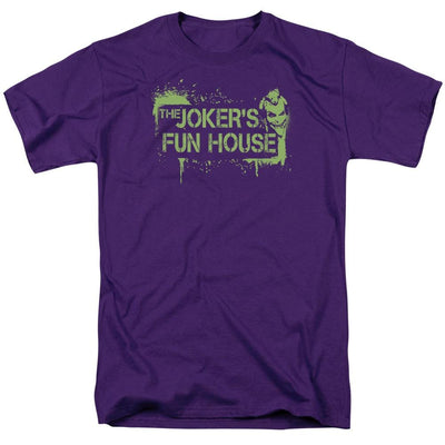 Batman - Arkham Jokers Fun House Men's Regular Fit T-Shirt