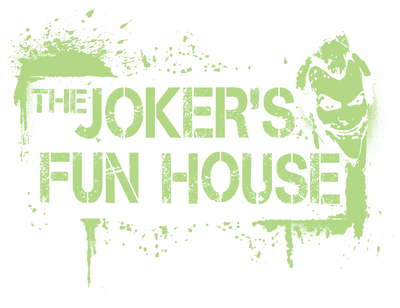 Batman - Arkham Jokers Fun House Juniors T-Shirt