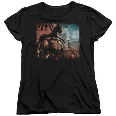 Batman - Arkham City Knockout Women's T-Shirt