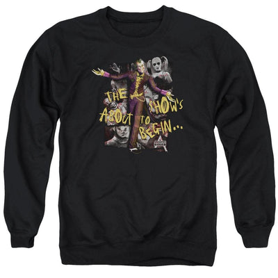 Batman - Arkham About To Begin Men's Crewneck Sweatshirt