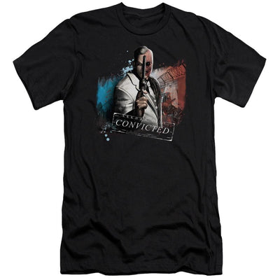 Batman - Arkham Two Face Men's Slim Fit T-Shirt