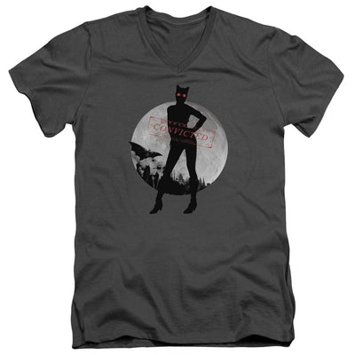 Batman - Arkham Catwoman Convicted Men's V-Neck T-Shirt