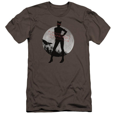 Batman - Arkham Catwoman Convicted Men's Premium Slim Fit T-Shirt