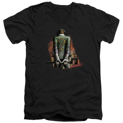 Batman - Arkham Riddler Convicted Men's V-Neck T-Shirt