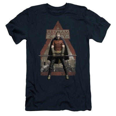 Batman - Arkham Arkham Robin Men's Slim Fit T-Shirt