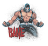 Batman Bane Flex Men's Crewneck Sweatshirt
