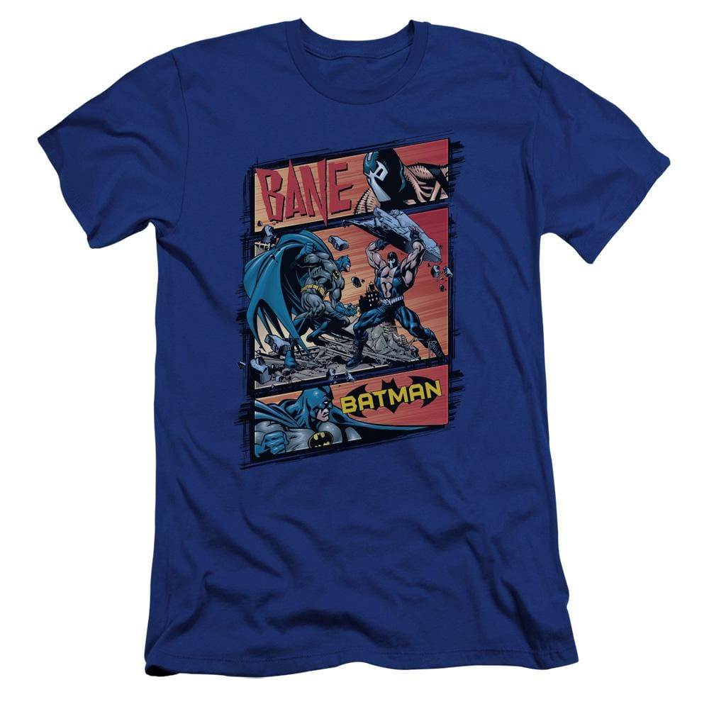Batman Epic Battle Premium Adult Slim Fit T-Shirt