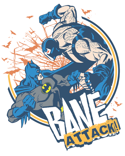 Batman Bane Attack! Women's T-Shirt