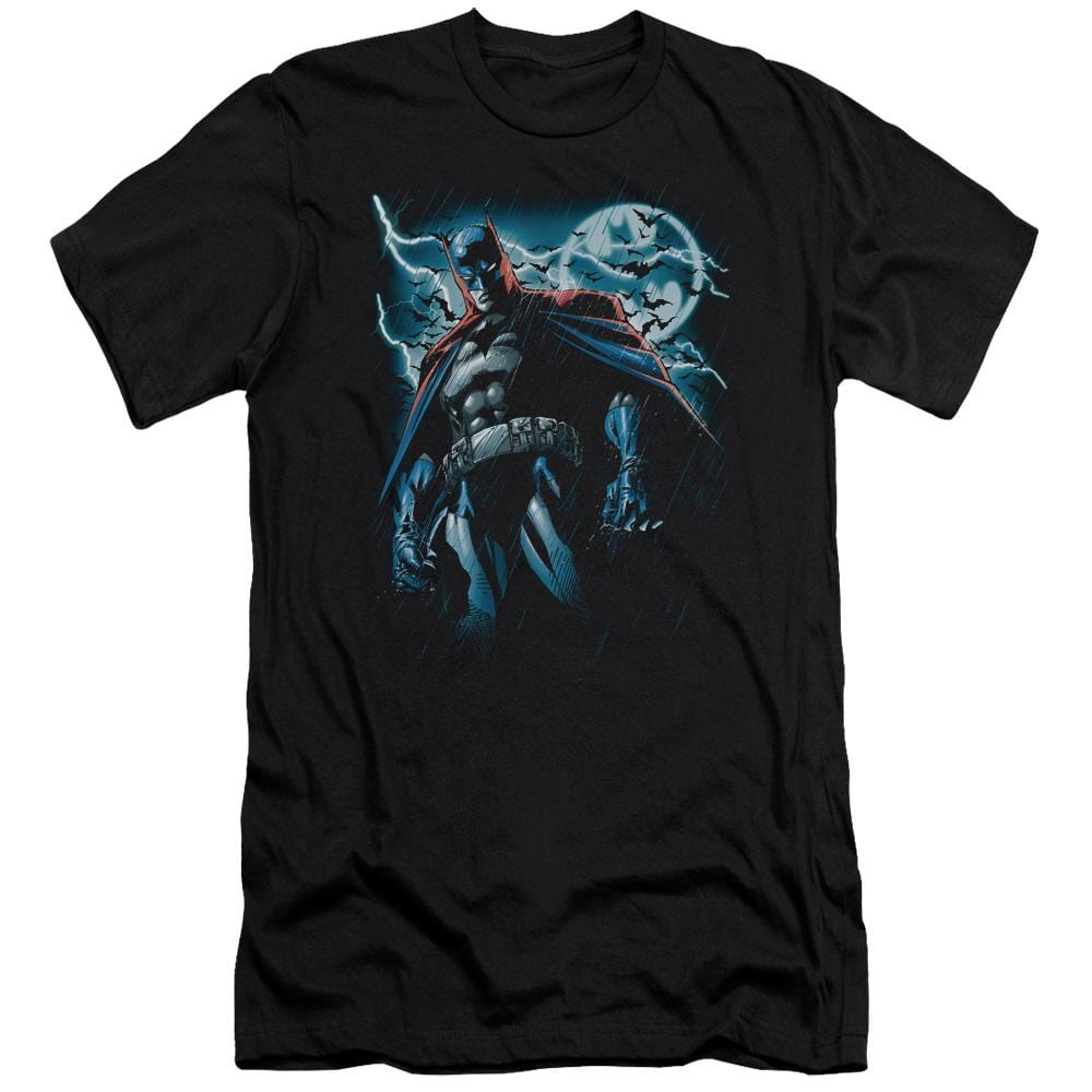 Batman Stormy Knight Premium Adult Slim Fit T-Shirt