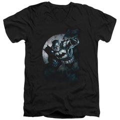 Batman Batman Spotlight Men's V-Neck T-Shirt