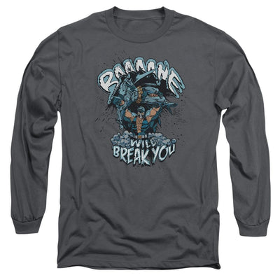 Batman Bane Will Break You Men's Long Sleeve T-Shirt