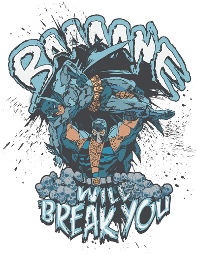 Batman Bane Will Break You Men's V-Neck T-Shirt