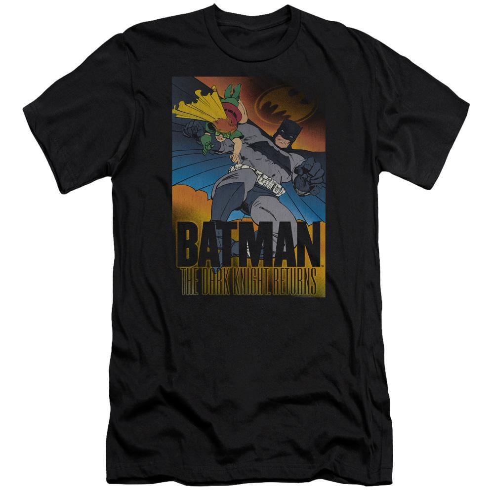 Batman Dk Returns Premium Adult Slim Fit T-Shirt