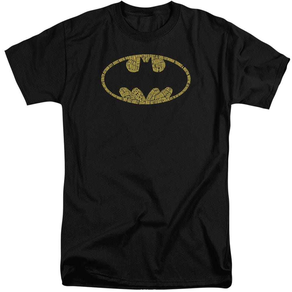 Batman - Word Logo Adult Tall Fit T-Shirt