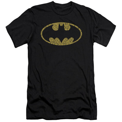 Batman Word Logo Men's Slim Fit T-Shirt