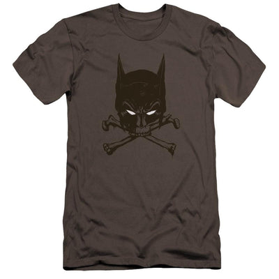 Batman Bat And Bones Men's Premium Slim Fit T-Shirt