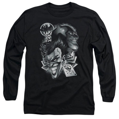 Batman Archenemies Men's Long Sleeve T-Shirt