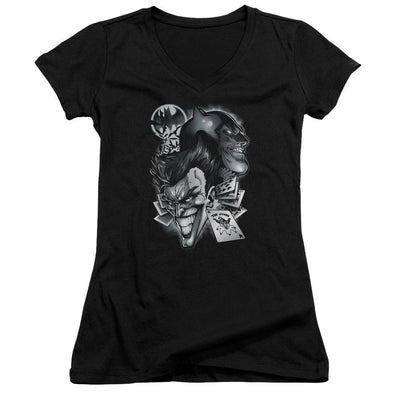 Batman Archenemies Juniors V-Neck T-Shirt
