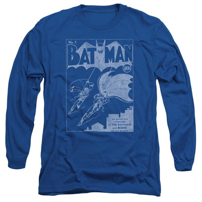 Batman Issue 1 Cover Men's Long Sleeve T-Shirt