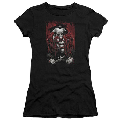 Batman Blood In Hands Juniors T-Shirt