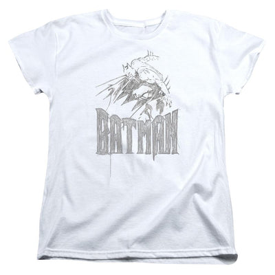 Batman Knight Sketch Women's T-Shirt