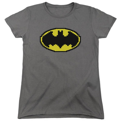 Batman Pixel Symbol Women's T-Shirt