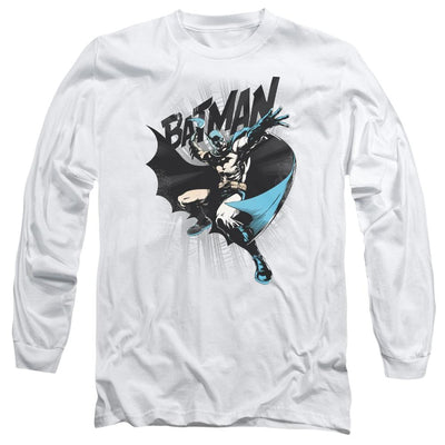 Batman Batarang Throw Men's Long Sleeve T-Shirt