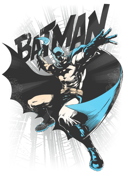 Batman Batarang Throw Men's Regular Fit T-Shirt